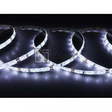 Герметичная светодиодная лента SMD 2835 60LED/m IP65 12V White 6.3W 190402, 5м