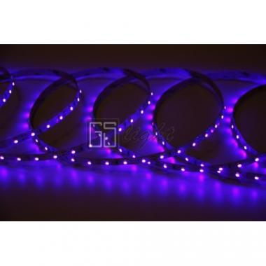Открытая светодиодная лента SMD 3528 60LED/m IP33 12V UV 333576, 5м